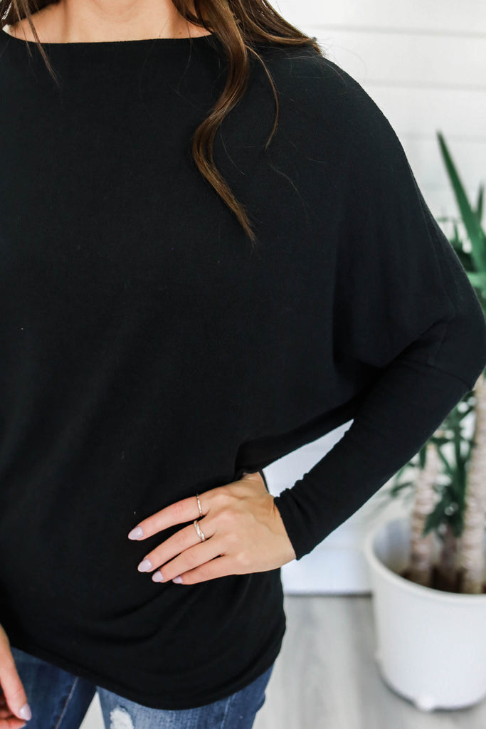 Off The Shoulder Top - Online Clothing Boutique