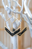 Beaded Geometric Earrings | Stylish & Affordable | UOI Online