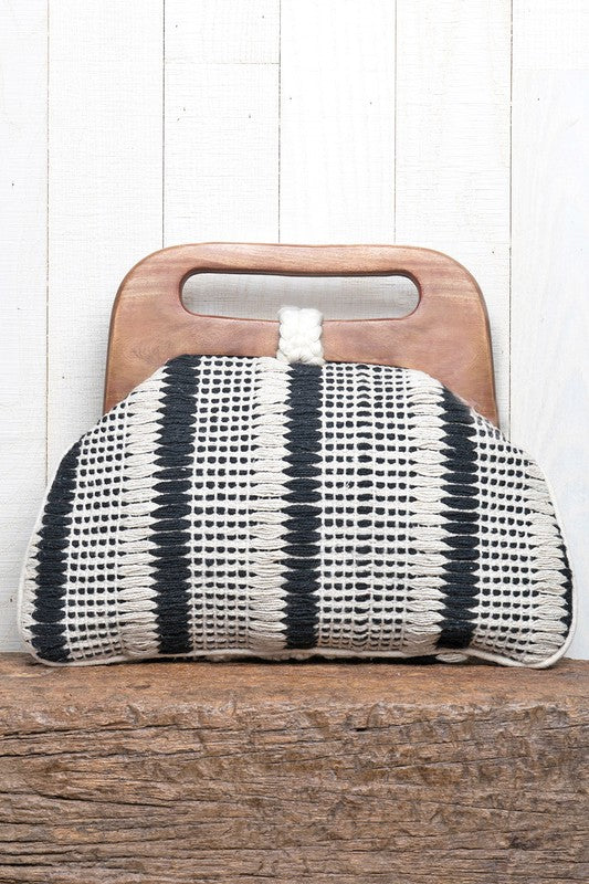 Cable Knit Purse - Online Clothing Boutique