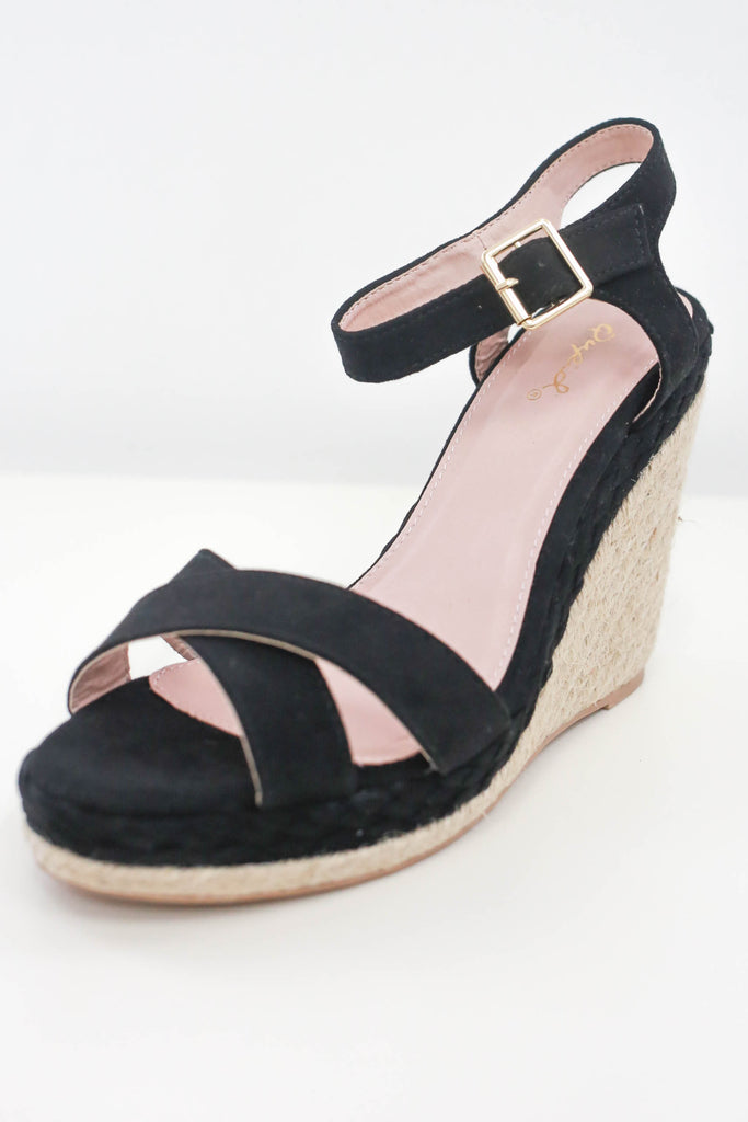 Women Shoes Online | ELARA-08 Espadrille Wedges