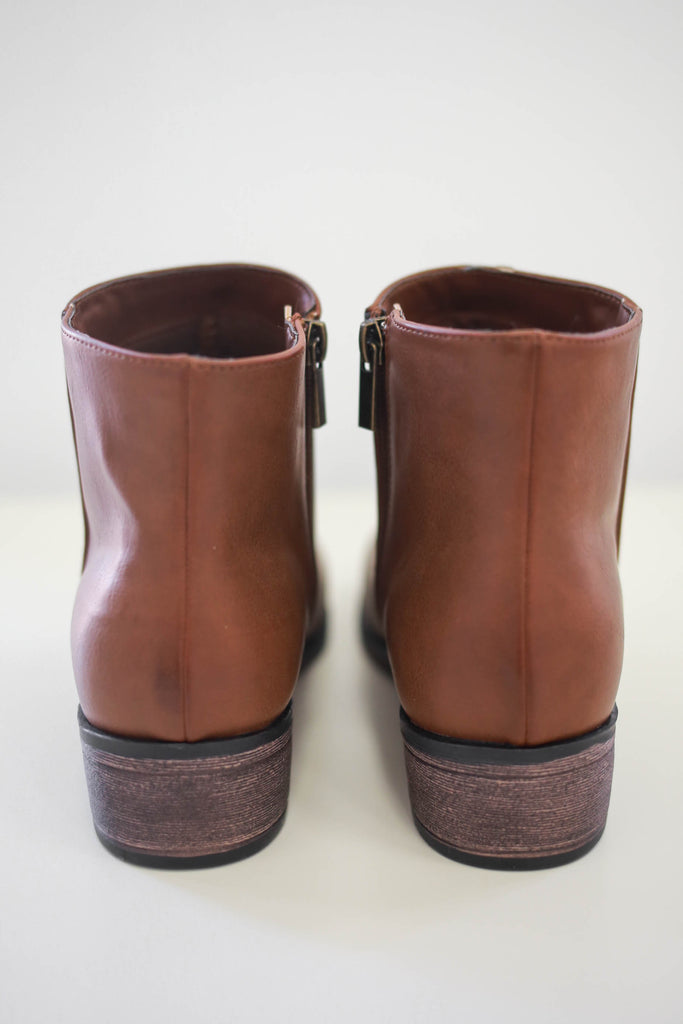 Faux Leather Booties | Stylish & Affordable | UOI Online