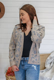 Leopard Print Cardigan | Stylish & Affordable | UOI Online