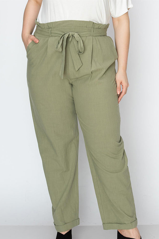 Plus Size Wide Legged Pants - Online Clothing Boutique