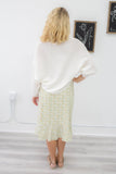 Wide Ribbed Knit Sweater - Online Clothing Boutique