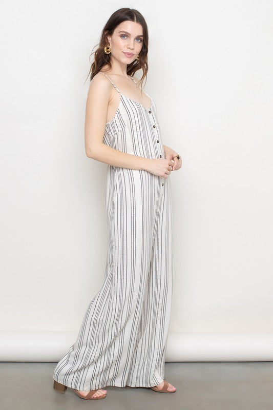 Striped Jumpsuit | Stylish & Affordable | UOI Online