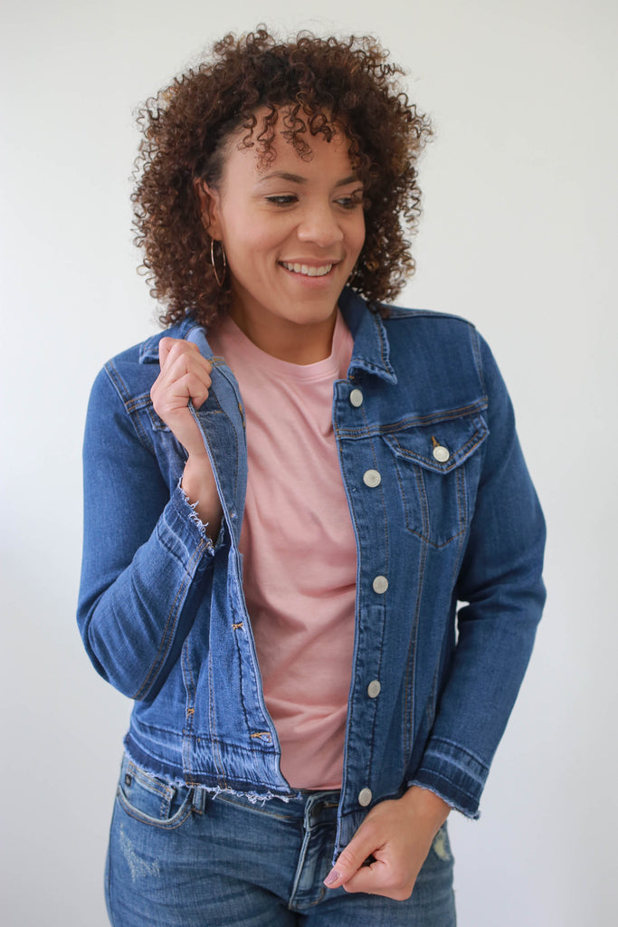 Denim Jacket - Online Clothing Boutique