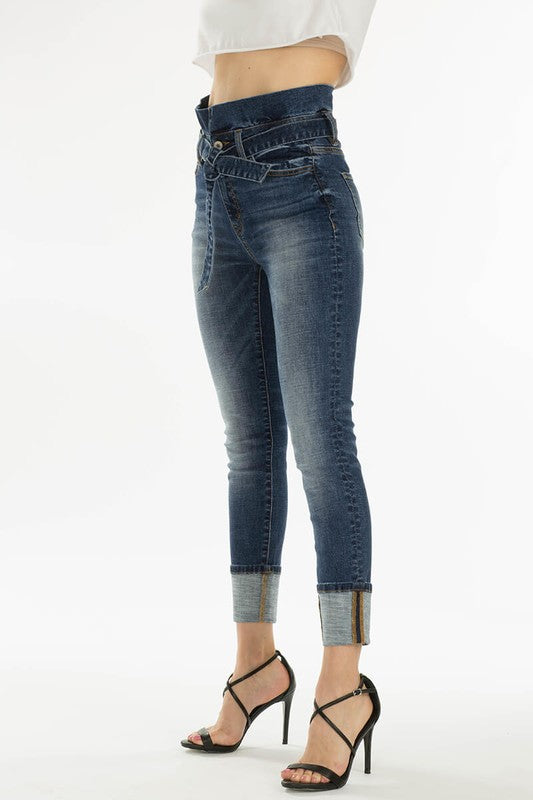 Paper Bag Waist Denim | Stylish & Affordable | UOI Online
