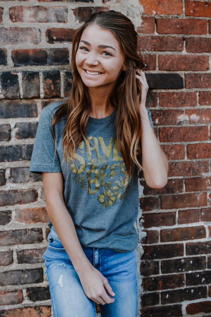 Save The Bees Graphic Tee | Stylish & Affordable | UOI Online