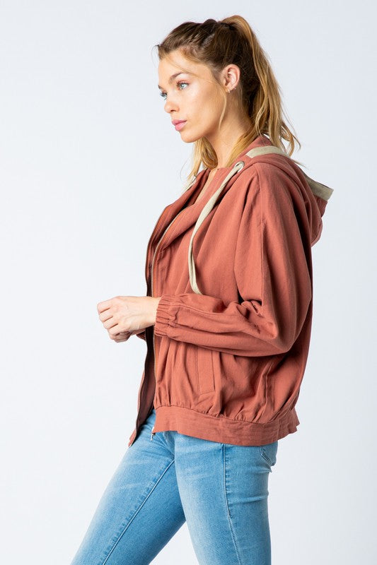 Hooded Jacket | Stylish & Affordable | UOI Online