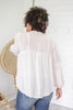 Balloon Sleeve Blouse - Online Clothing Boutique