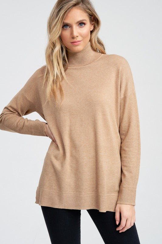 Oversized Turtleneck Sweater | Stylish & Affordable | UOI Online