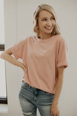 Short Sleeve Basic Round Neck Tee | Stylish & Affordable | UOI Online