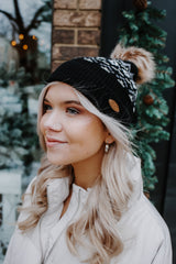Fair Isle Print CC Beanie | Stylish & Affordable | UOI Online