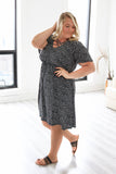 Plus Size Polka Dot Dress - Online Clothing Boutique