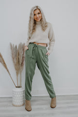 Drawstring Linen Like Pants | Stylish & Affordable | UOI Online