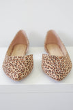 Cheetah Print Flats - Online Clothing Boutique