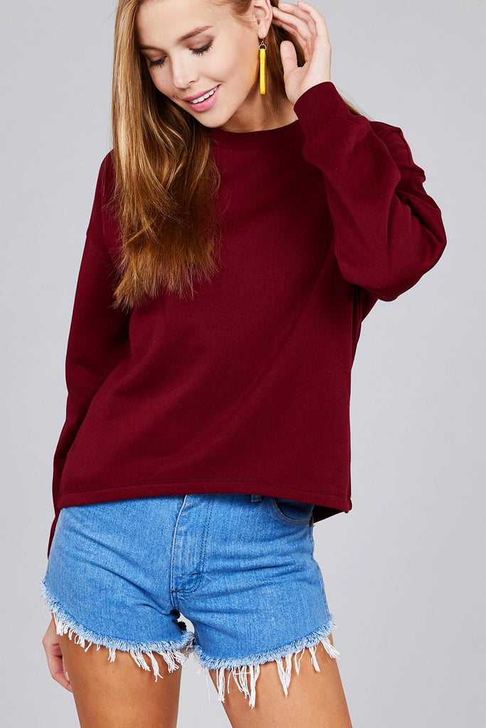 Crew Neck Sweatshirt | Stylish & Affordable | UOI Online