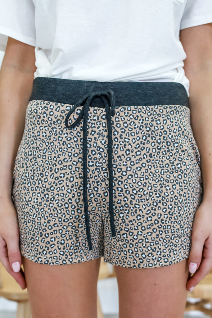 Cheetah Print Shorts | Stylish & Affordable | UOI Online