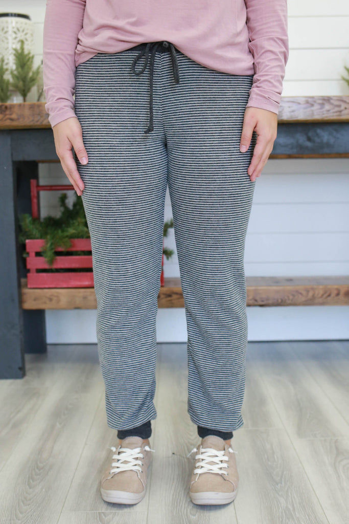 Striped Joggers | Stylish & Affordable | UOI Online