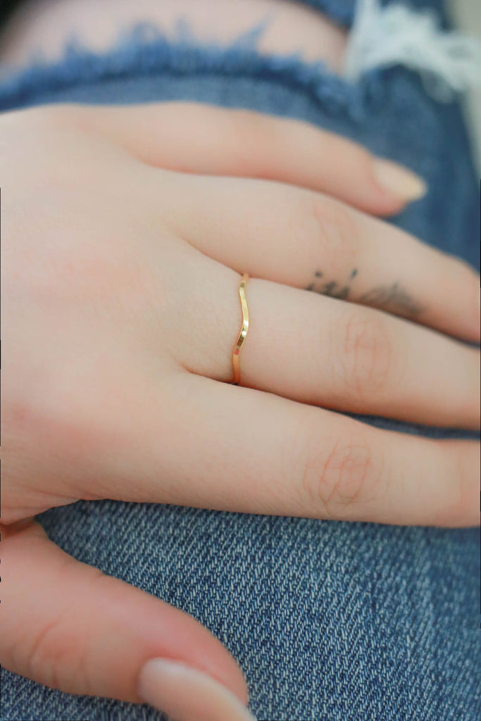 Gold Ring - Online Clothing Boutique