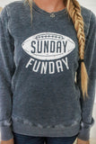Sunday Funday Graphic Sweatshirt