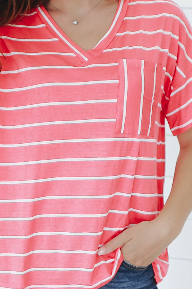 Striped Tee - Online Clothing Boutique