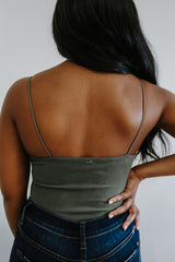 Bungee Strap Soft Knit Bodysuit | Stylish & Affordable | UOI Online