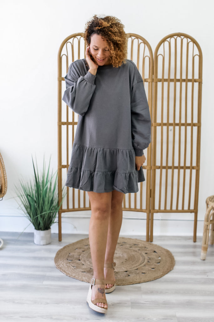 Sweatshirt Dress | Stylish & Affordable | UOI Online