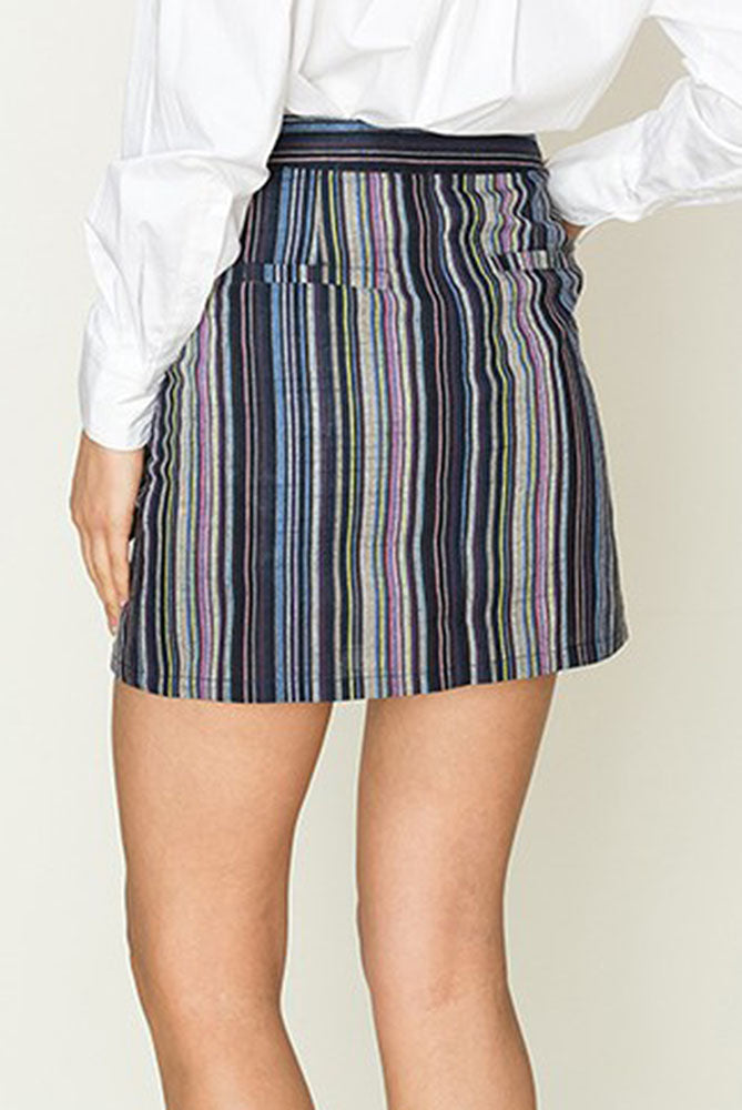 Striped Miniskirt - Online Clothing Boutique