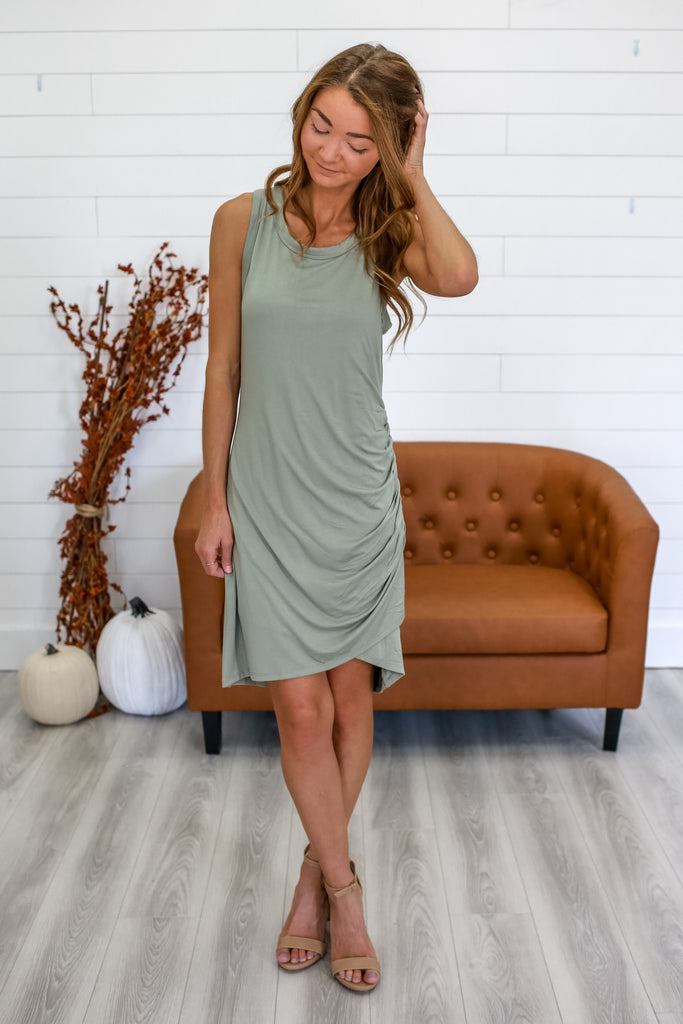 Fully Lined Sleeveless Dress | Stylish & Affordable | UOI Online