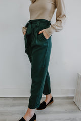 High Rise Paper Bag Waist Pants | Stylish & Affordable | UOI Online