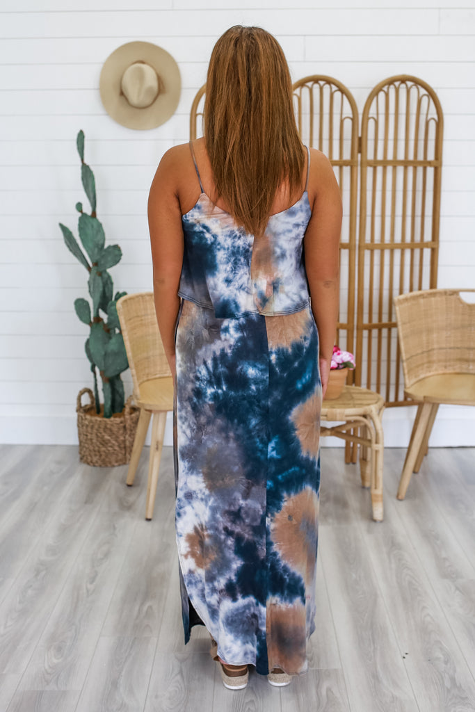 Tie-Dye Maxi Dress | Stylish & Affordable | UOI Online