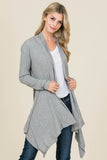 Draped Cardigan - Online Clothing Boutique