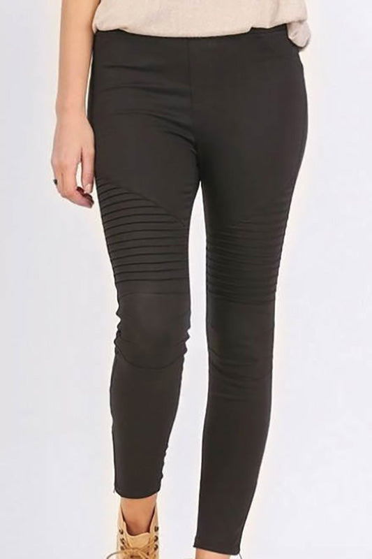 Moto Jeggings - Online Clothing Boutique