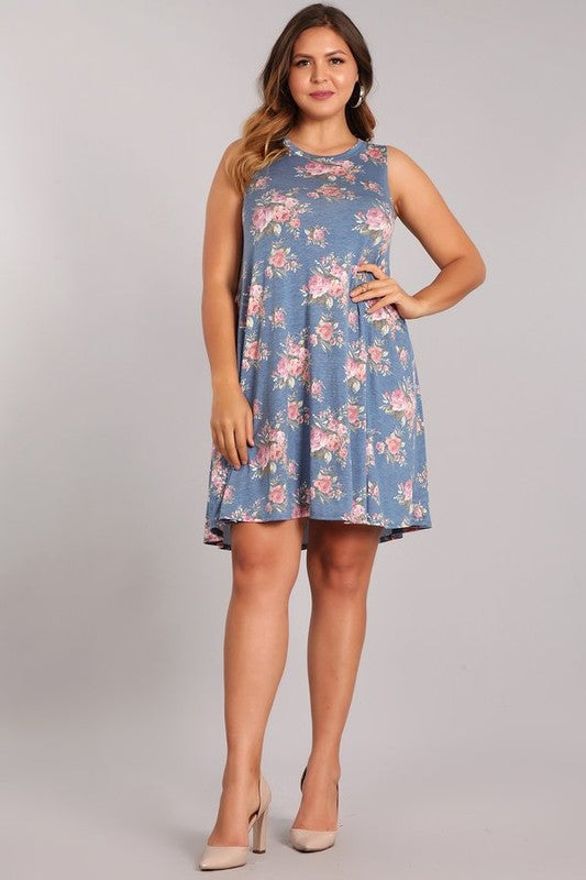 Plus Size Floral Dress | Stylish & Affordable | UOI Online