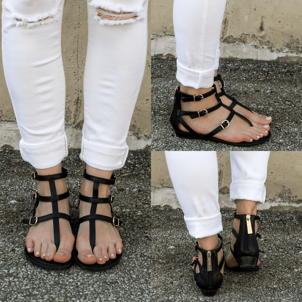 chelsi-14 Strappy Sandals - Online Clothing Boutique
