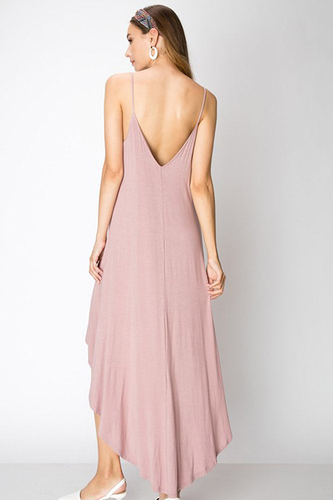 High Low Maxi Dress - Online Clothing Boutique