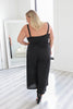Plus Size Cropped Jumpsuit - Online Clothing Boutique