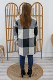 Plaid Knit Cardigan | Stylish & Affordable | UOI Online