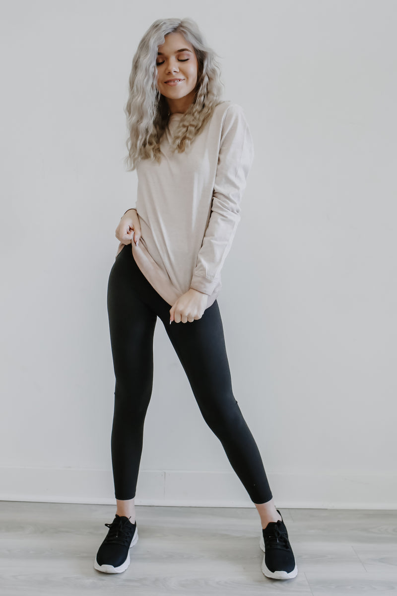 Long Sleeve Washed Out Top | Stylish & Affordable | UOI Online
