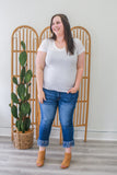 Plus Size Basic Tee - Online Clothing Boutique