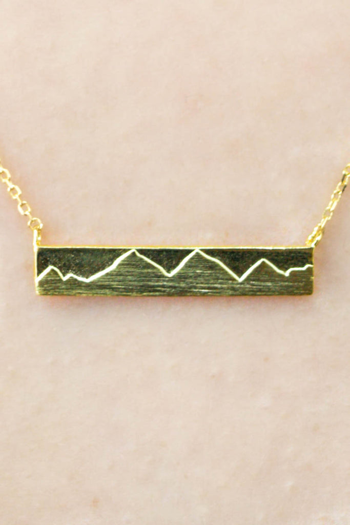 Mountain Necklace | Stylish & Affordable | UOI Online