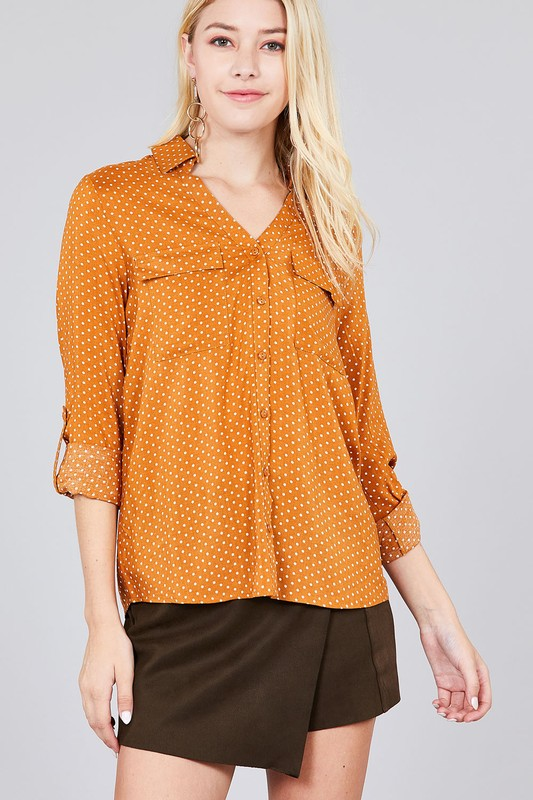 Polka Dot Top | Stylish & Affordable | UOI Online
