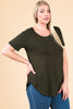 Plus Size Tee | Stylish & Affordable | UOI Online