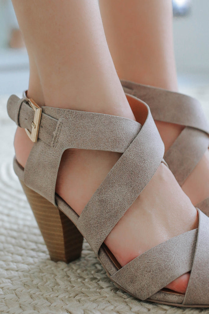 Chamber-01 Strappy Heels - Online Clothing Boutique