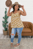 Floral Tiered Tank | Stylish & Affordable | UOI Online