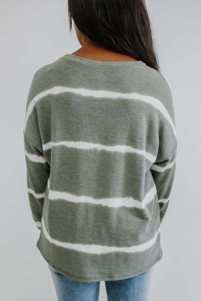 Long Sleeve Tie-Dye Top | Stylish & Affordable | UOI Online