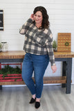 Plus Size Plaid Top | Stylish & Affordable | UOI Online
