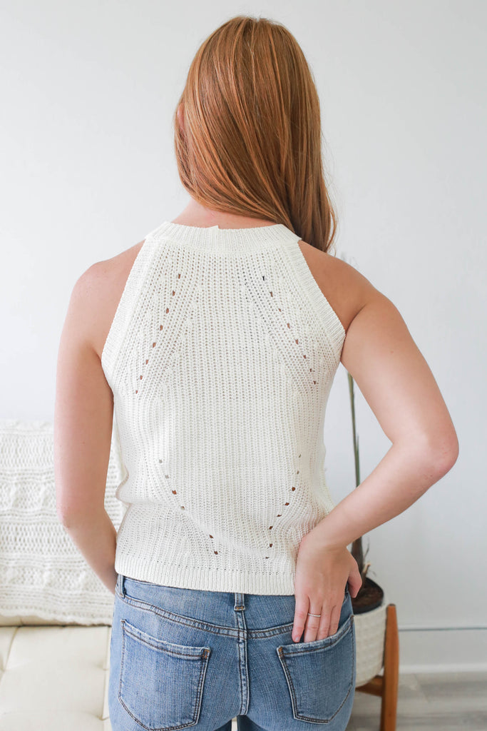 Knit Tank Top - Online Clothing Boutique