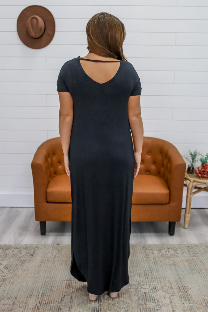 Short Sleeve Maxi Dress | Stylish & Affordable | UOI Online